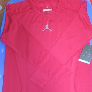 Jordan Long Sleeve Training Shirt. New. L & XL